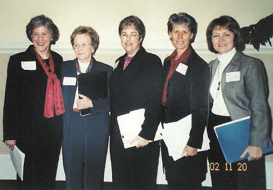 Five in 25 Event: Susan Leeson, Betty Roberts, Susan Graber, Gini Linder, Mary Deits