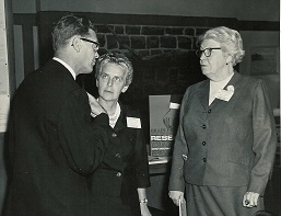 Judge Jean Lewis and Manche Langley